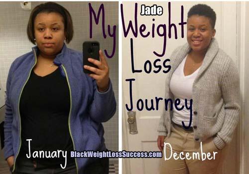 Jade weight loss story