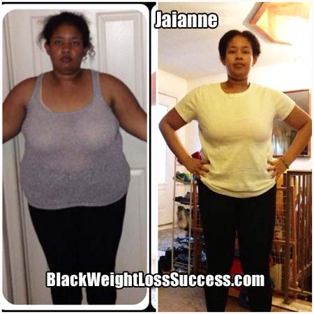 Jaianne before and after