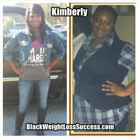 Kimberly weight loss success story