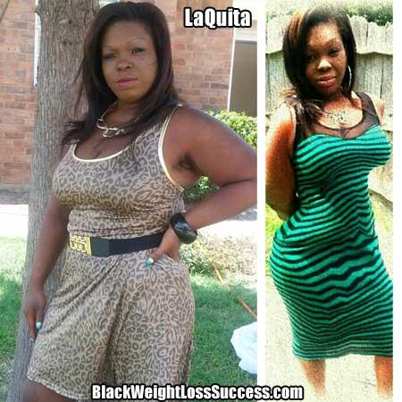 LaQuita weight loss