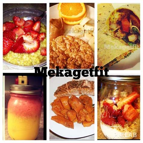 sample day of meals diet
