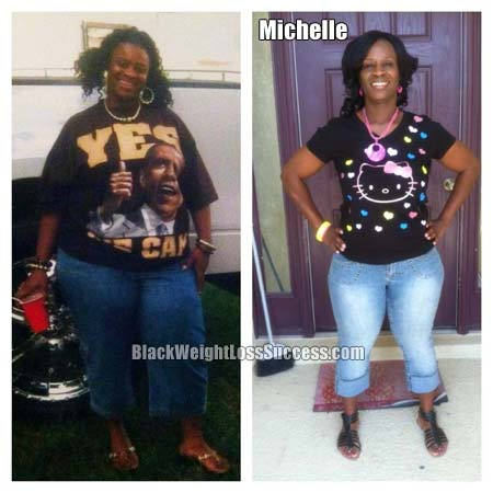 Michelle before and after photos