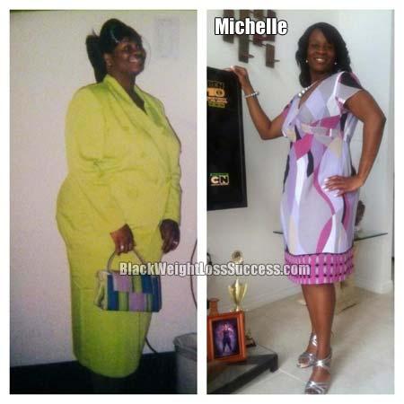 Michelle lost weight