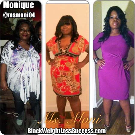 Monique weight loss story