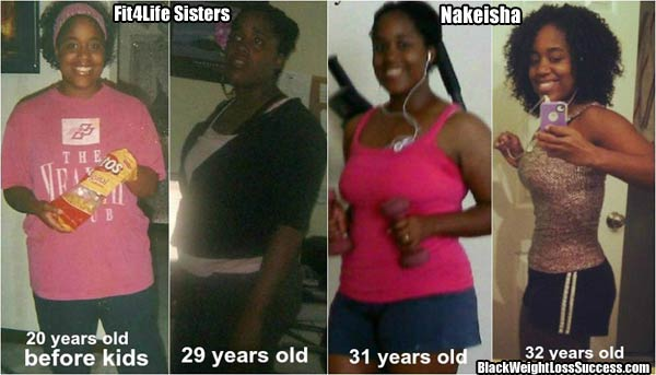 Weight Loss Transformation: Nakeisha lost 43 pounds ...