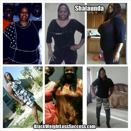 Shalaunda before and after