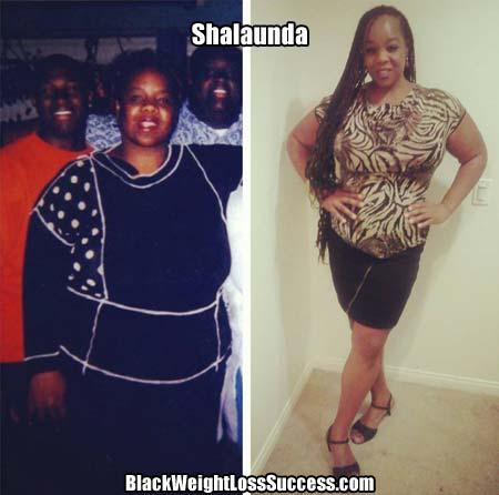 Shalaunda weight loss story