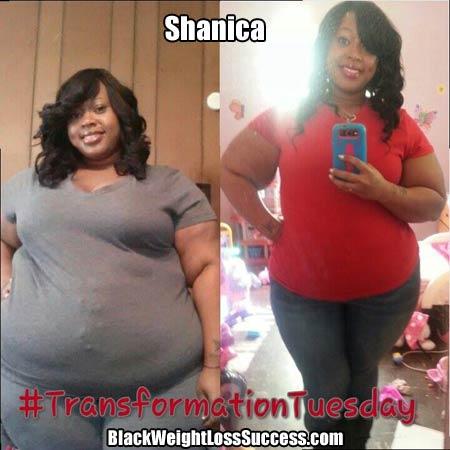 Shanica weight loss