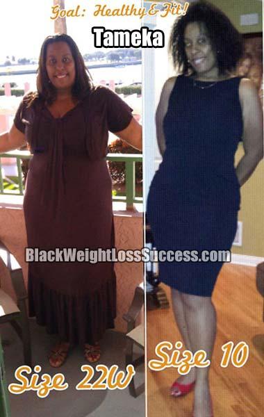 Tameka weight loss story