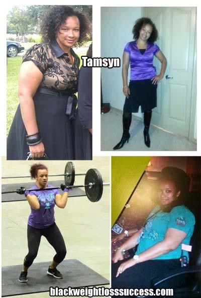 Tamsyn weight loss
