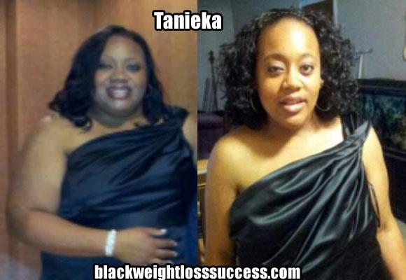 Tanieka weight loss