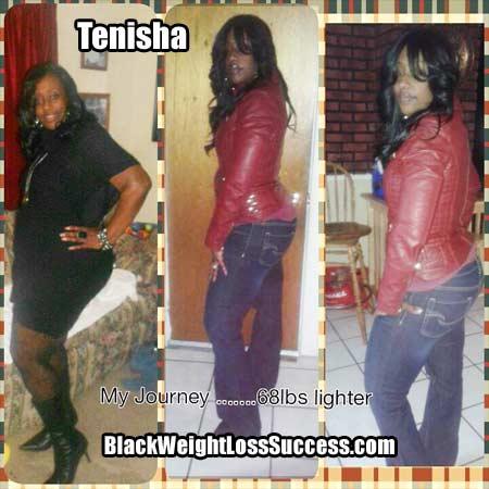 Tenisha weight loss story