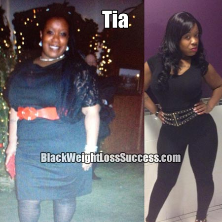 Tia weight loss story