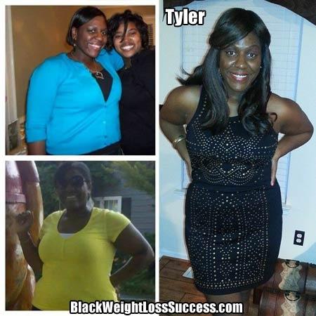 Tyler weight loss journey