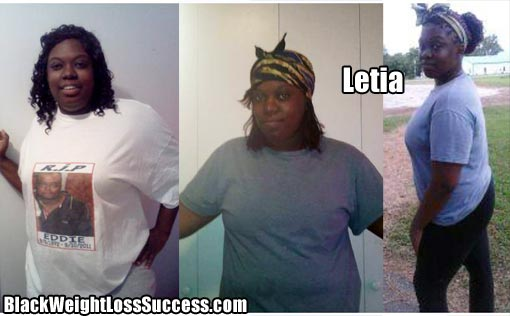 Letia weight loss story