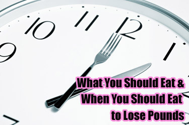 timing eating weight loss