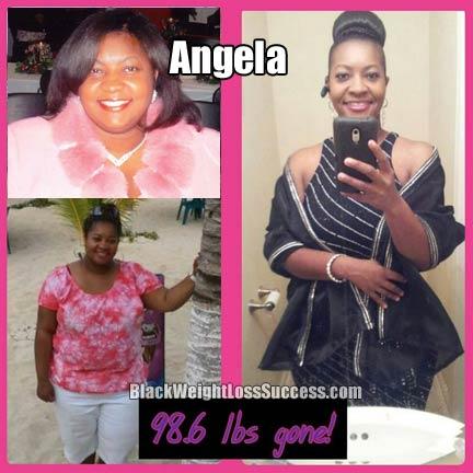 Angela weight loss