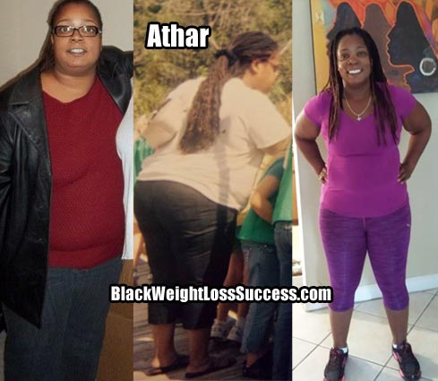 Athar weight loss story