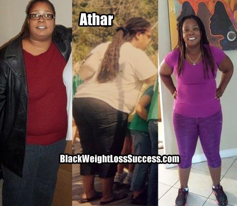 Athar weight loss story