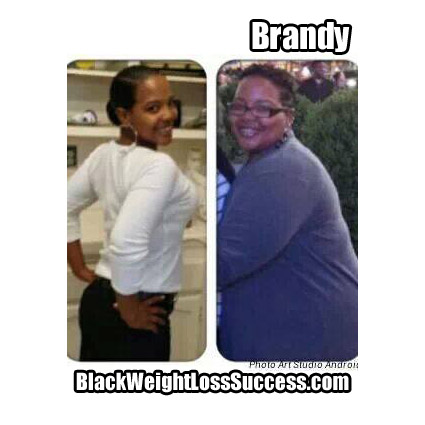 Brandy before and after