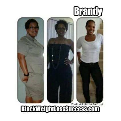 Brandy weight loss