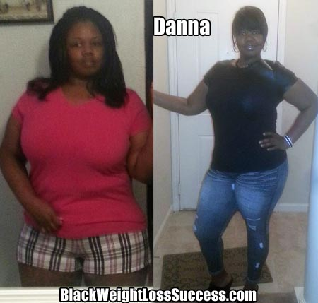 Danna weight loss before after