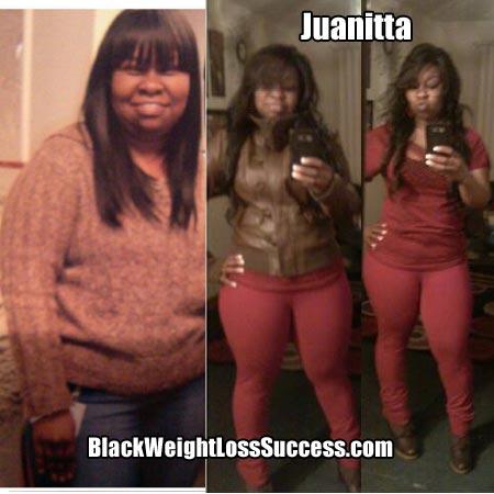 Juanitta weight loss success story