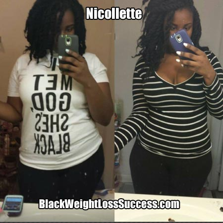Nicollette weight loss