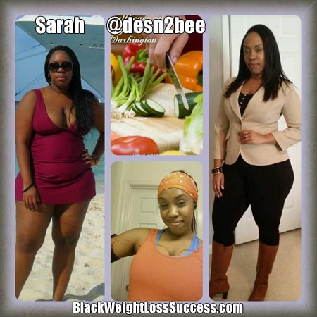 Sarah weight loss
