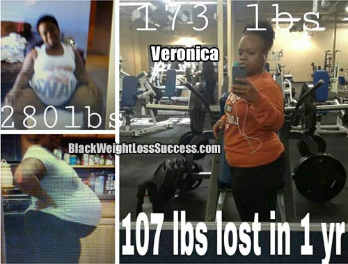 Veronica post baby weight loss
