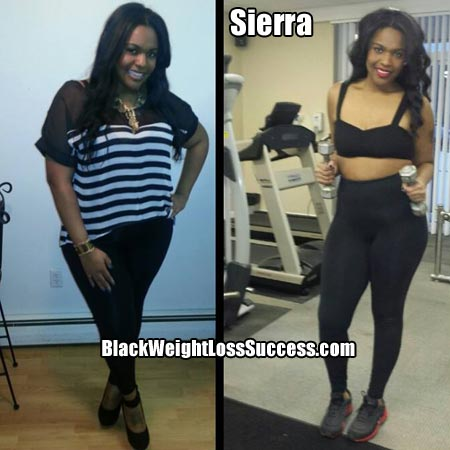 Sierra Weight Loss Story