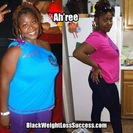 Ah'ree weight loss