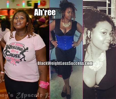 Ah'ree before and after