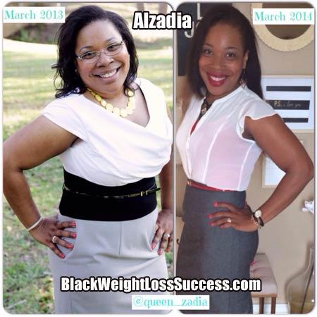 Alzadia weight loss