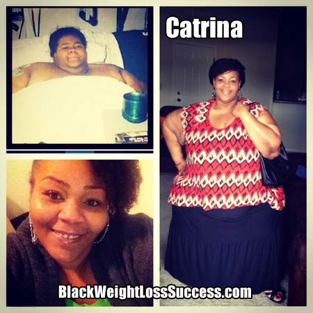 Catrina lost 500 pounds