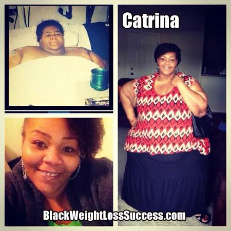 Catrina lost 500 pounds