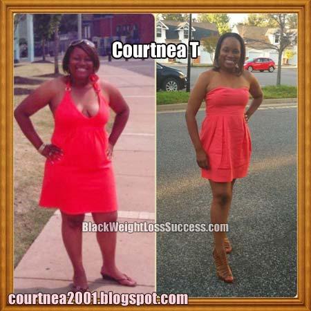 courtnea weight loss