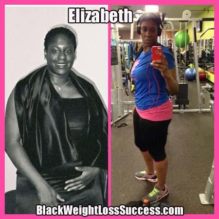 Elizabeth weight loss story