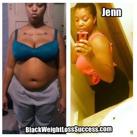 Jenn weight loss