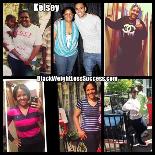 Kelsey before and after weight loss