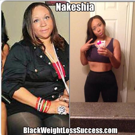 Keshia weight loss