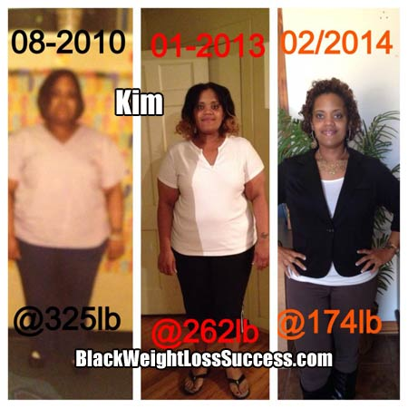 Kim weight loss story