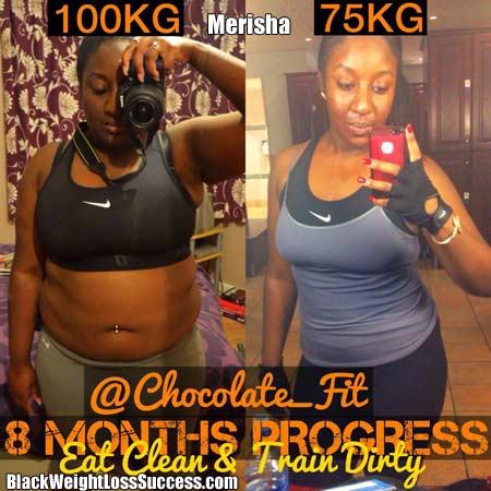 Merisha weight loss
