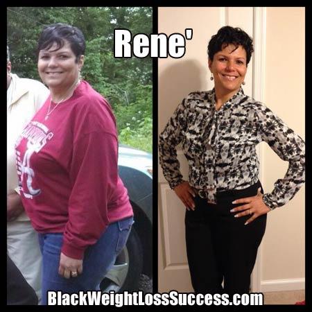 Rene' weight loss success story