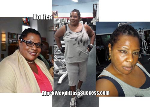 Ronica before and after