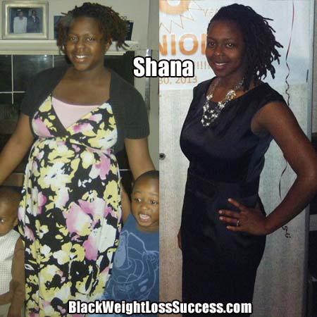 Shana weight loss