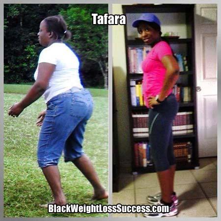 Tafara weight loss story