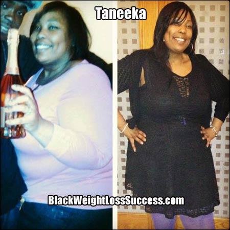 Taneeka weight loss