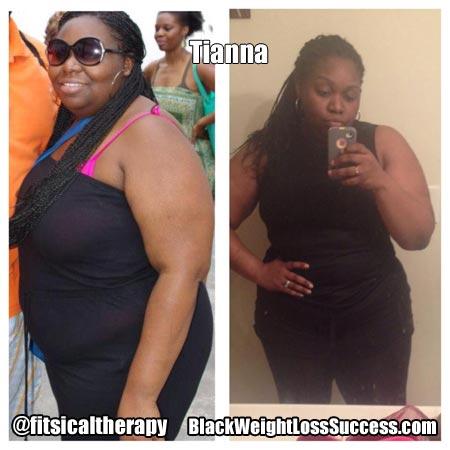 Tianna weight loss