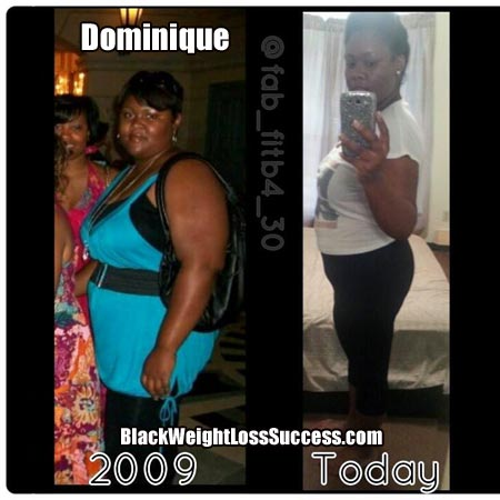dominique weight loss